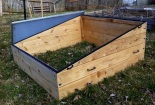 Open Cedar Cold Frame