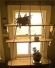 Window Garden shelves