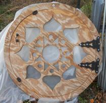 Dome door built by Sunnyside.