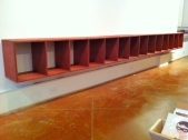 Floating Row Shelf for Telegraph Gallery