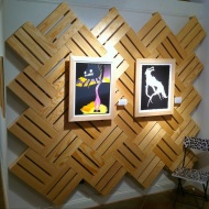 Print Feature Wall for Telegraph Gallery