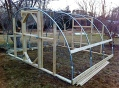 Front of Greenhouse Frame
